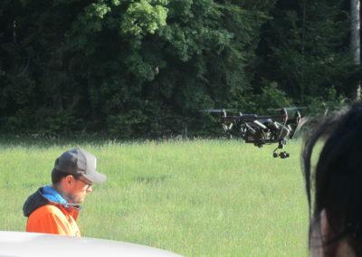 Boris Bron et son drone