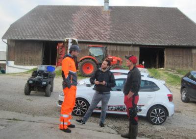 Boris Bron, Bayron Schwyn, l'agriculteur Kevin